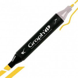GRAPH'IT Twin Tip Marker GI01190 Canary tusser