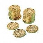 Guldmønter med dollartegn