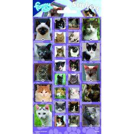 Stickers med katte