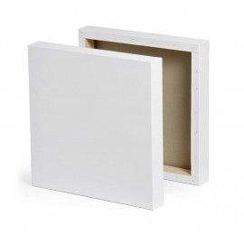 Malerlærred 20 cm x 25 cm opspændt