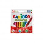 Carioca voks farvekridt 24 stk