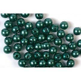 Voksperler runde grønne 3mm
