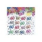 60 år fødselsdag konfetti