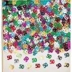 50 år fødselsdag konfetti