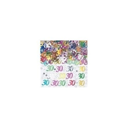 30 år fødselsdag konfetti