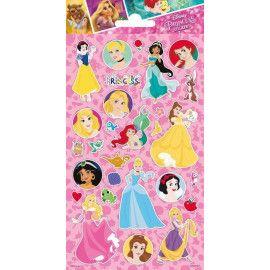 disney-prinsesser_stickers_klistermærker