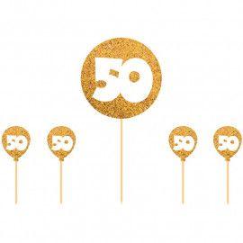 Kagepynt toppers 50 år