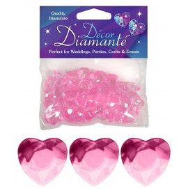 lyserøde-pynte-diamanter-hjerter