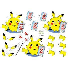 3D ark Dan Design 13356 pikachu pokemon