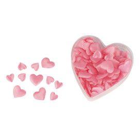 lyserøde stof hjerter mix