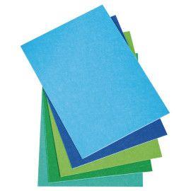 hobby-filt-selvklæbende-1mm-mix-blå-grøn-farver