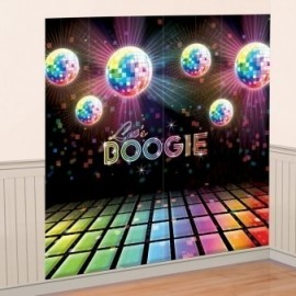 Disco vægdekoration