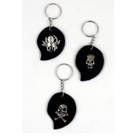 nøglering-pirat