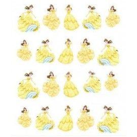 negle-stickers-børn-disney-belle