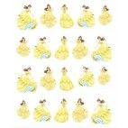 Disney Belle negle stickers