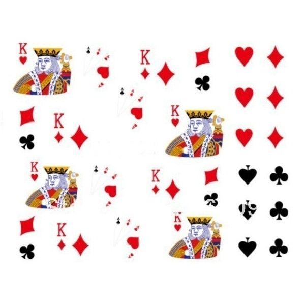 Casino negle stickers