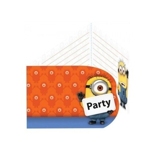 Minions invitationer