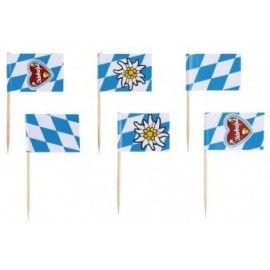 Små oktoberfest flag
