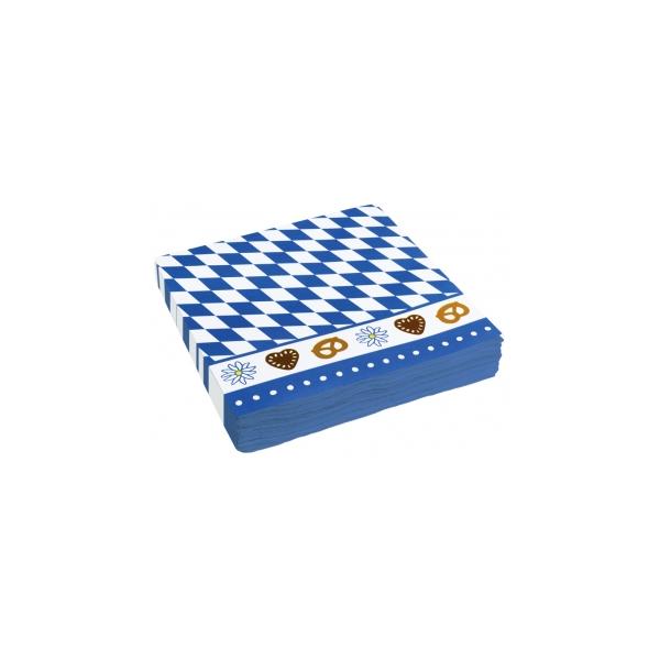 Oktoberfest servietter med motiv, 1 stk