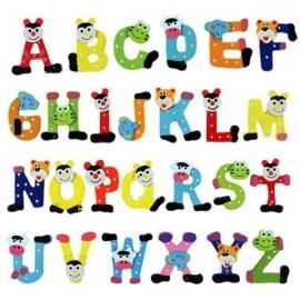 Alfabet træbogstaver