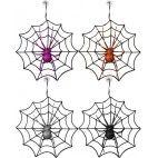Hængende glitter edderkop