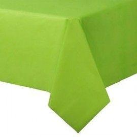 Limegrøn plastik dug