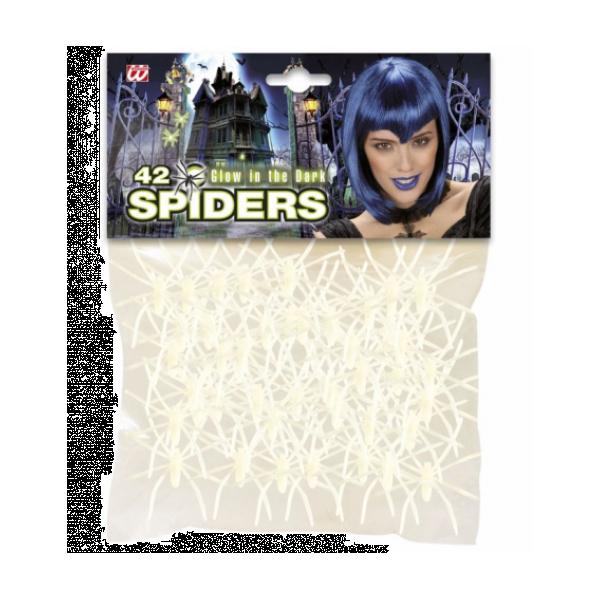 Selvlysende edderkopper, 50mm