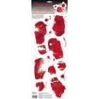 Blodige fodspor
