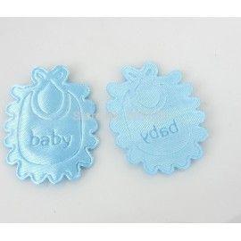 barnedåbspynt-bordpynt-lyseblå-hagesmækker