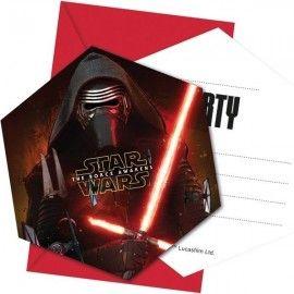 Star-Wars-fødselsdag-indbydelser