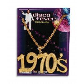 70'er halskæde med 1970'erne