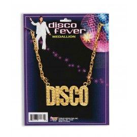 70'er halskæde Disco