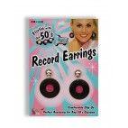 70'er øreringe med plader