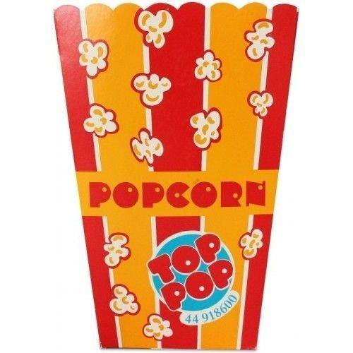 Popcorn bæger, 1 stk