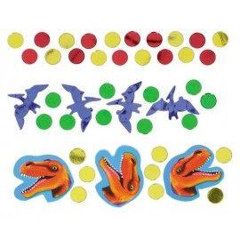 konfetti-bordpynt-dinosaur-fødselsdag