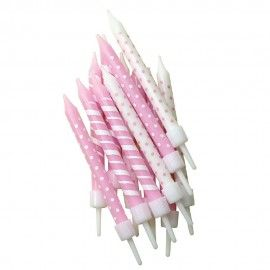 lyserøde-lagkagelys-prikker-striber
