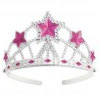 Prinsesse diadem med stjerner