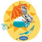 Frozen Olaf invitationer