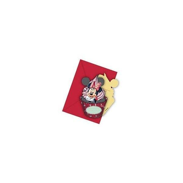 Minnie Mouse invitationer