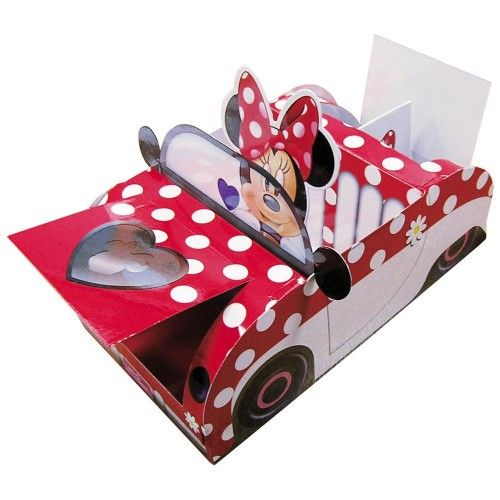 Minnie Mouse serverings bakke
