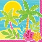 Hawaii drinks servietter