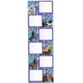 Heste mærkater