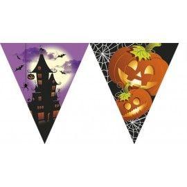 Halloween flag banner