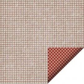 Scrap papir dobbeltsidet Felicita design jul 35322