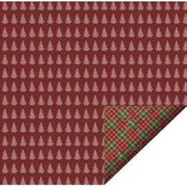 Scrap papir dobbeltsidet Felicita design jul 35329