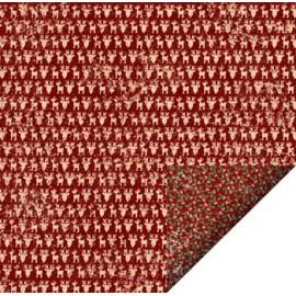Scrap papir dobbeltsidet Felicita design jul 35330