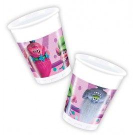 Trolls-fødselsdag-kopper-plast