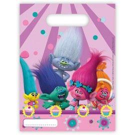 Trolls-fødselsdag-slikposer