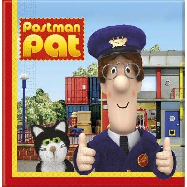Postmand Per servietter, 1 stk