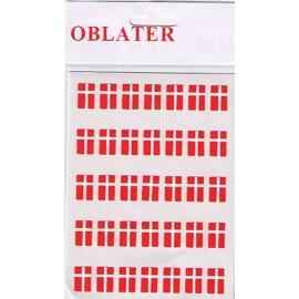 Oblater flag 0,8x1,2cm 70stk